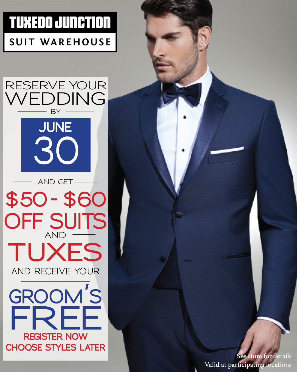 Tuxedo Junction | Suits and Tuxedos for Weddings, Proms ...