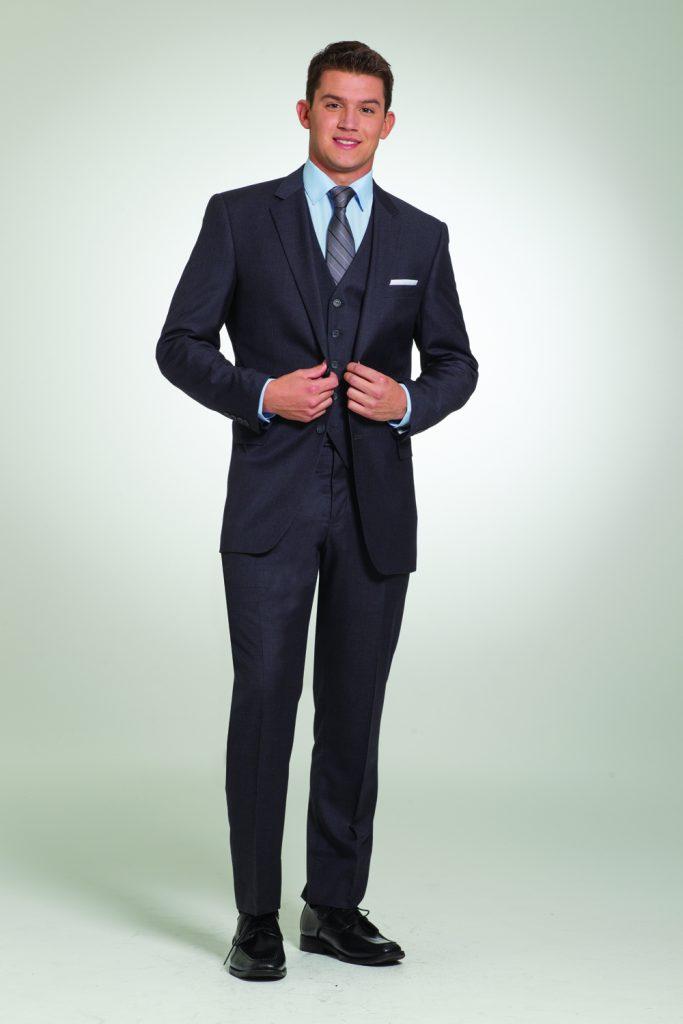 Charcoal Black Suit