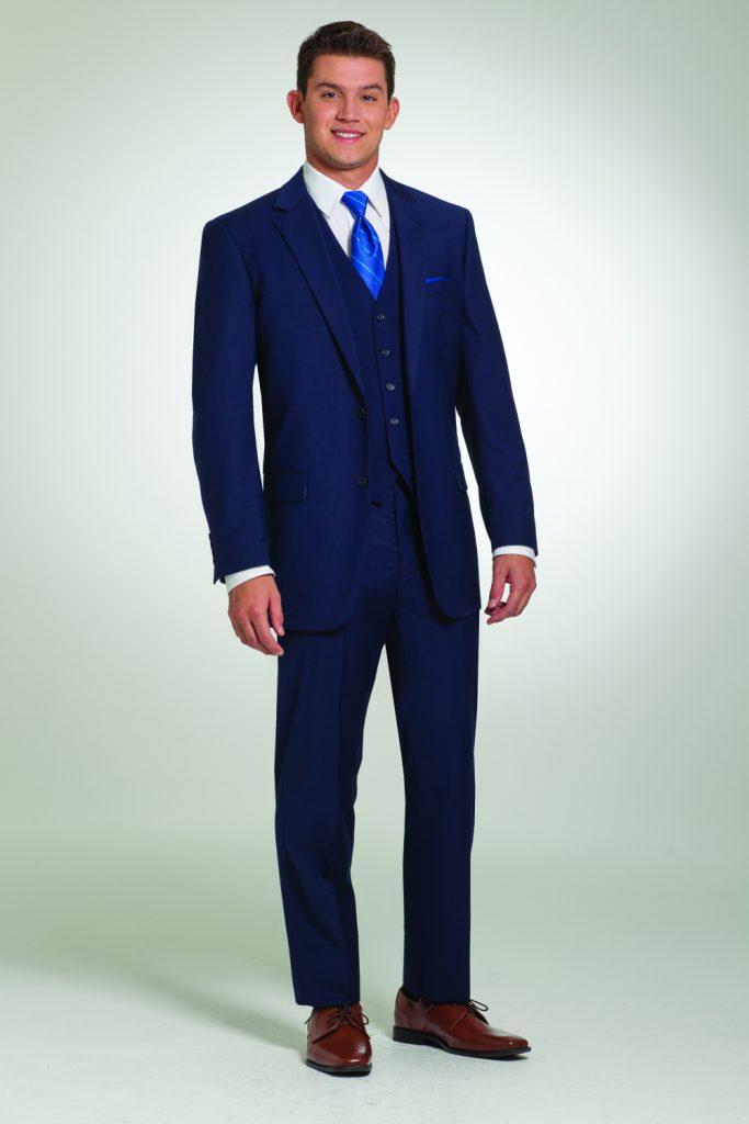 Navy Black Suit