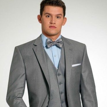 Three-Piece Grey Suit