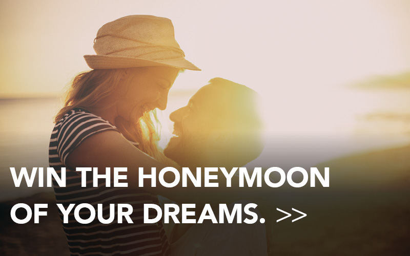 Win the honeymoon of your dreams