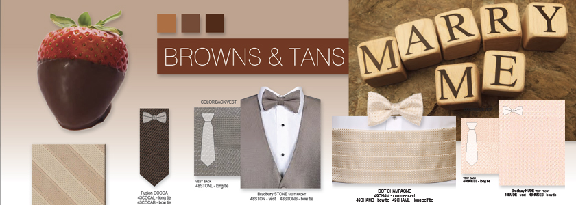 Explore All Your Brown & Tan Options