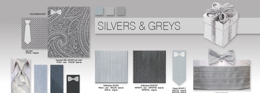 Explore All Your Grey & Silver Options
