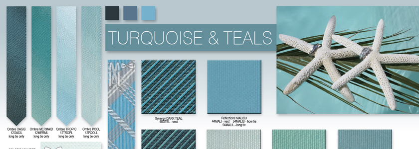 Explore All Your Turquoise and Teal Options