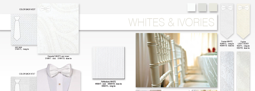 Explore All Your White & Ivory Options