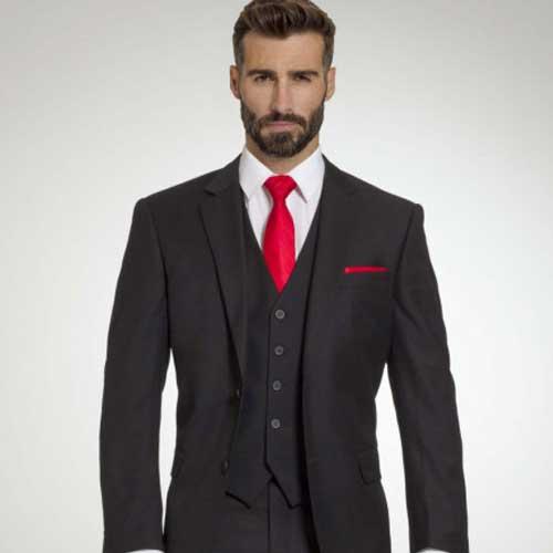 Retail Black Suit